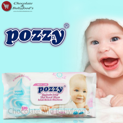 Pozzy Baby wet towel wipes 120 pc's