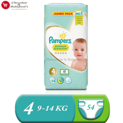 Pampers Jumbo pack Premium Protection Size- 4 (Diaper Belt)